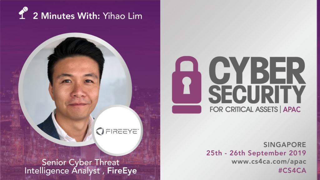 2 Minutes With: Yihao Lim, Senior Cyber Threat Intelligence